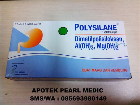 Polysilane Tablet Kunyah jual polysilane tablet pearl medic