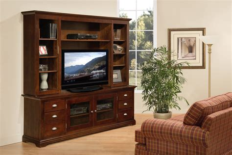Tv Stand And Hutch large tv stand with hutch eco friendly wood media furniture 6393