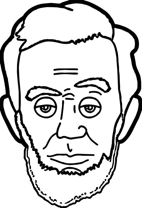 lincoln page abraham lincoln president coloring page wecoloringpage