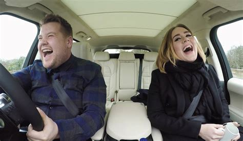 james corden and adele relationship watch adele does carpool karaoke with james corden and
