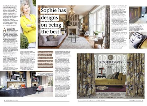 home journal interior design peckett design featured in the journal lincolnshire