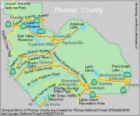 plumas county california map quincy plumas county california