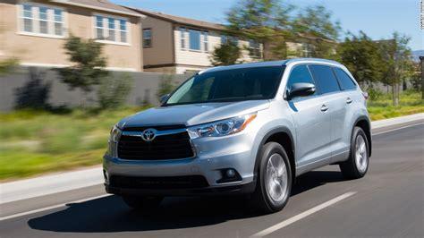 Toyota Suv Names Mid Size Suv Toyota Highlander Kelley Blue Book Names