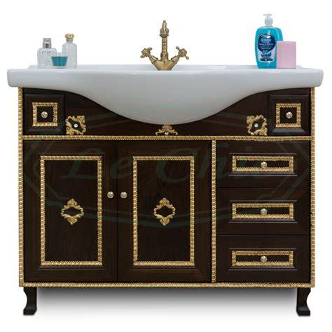 arredo bagno barocco arredo bagno in stile barocco noce con particolari oro