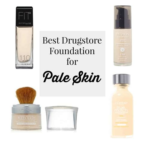 best foundation for light skin best drugstore foundations pale skin style assisted