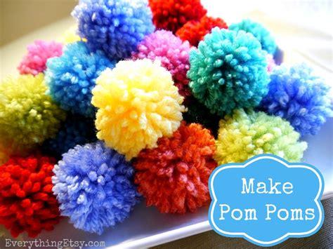 pom pomeranians how to make a pom pom diy