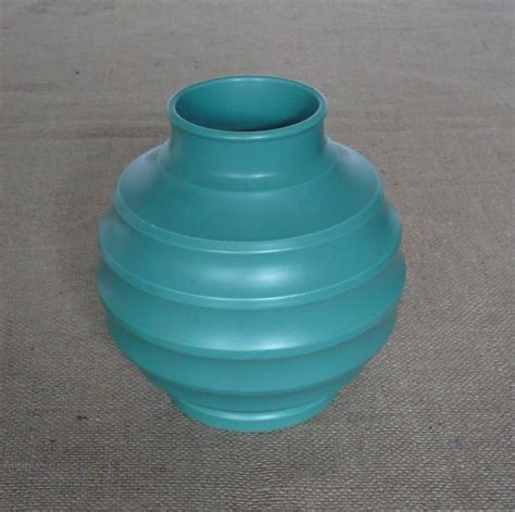 Ceramic Football Vase by Antiques Atlas Keith Murray Football Vase For Wedgewood