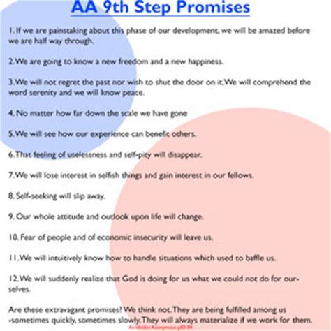 Aa Promises Printable