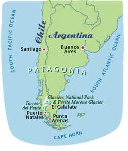 map patagonia south america argentina patagonia tours smartours