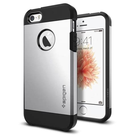 Slim Armor Black Back Cover Casing Iphone 7 top 10 best apple iphone se cases and covers