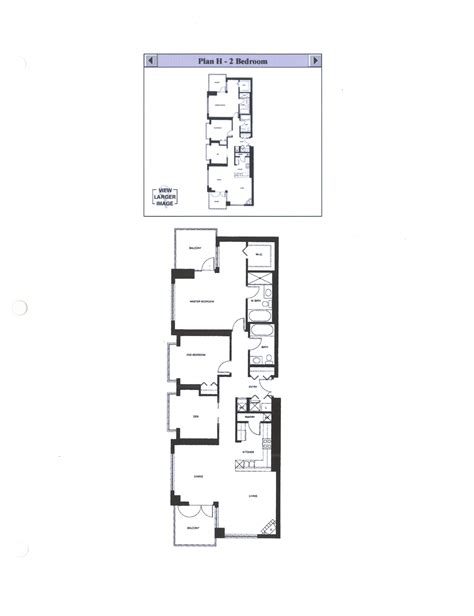 Discover The Floor Plan For Discovery Floor Plan G 1 Bedroom