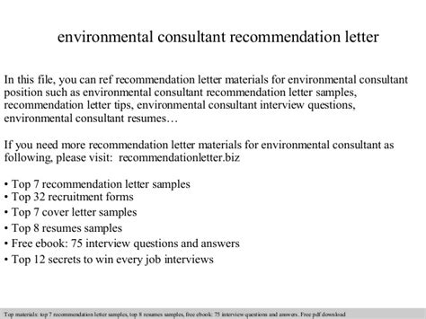 letter of appreciation environmental consultant recommendation letter 1381