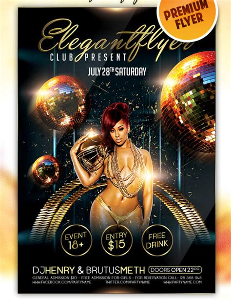 Free Nightclub Flyer Design Templates 37 club flyer templates free psd rtf pdf format