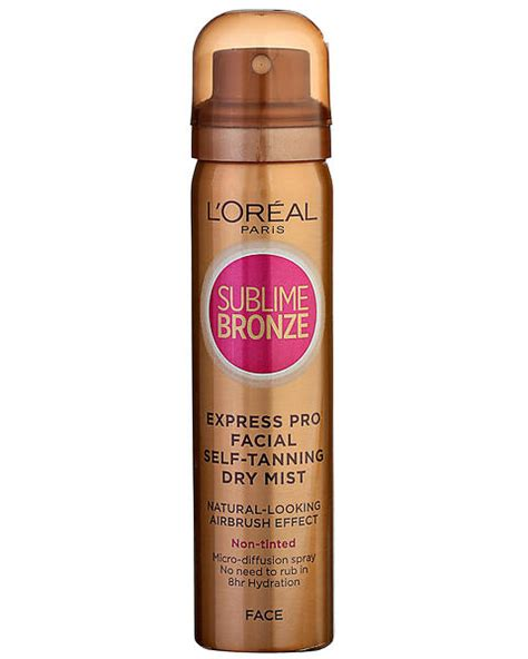 best face tanning l reviews best deals on l oreal sublime bronze self tanning dry mist
