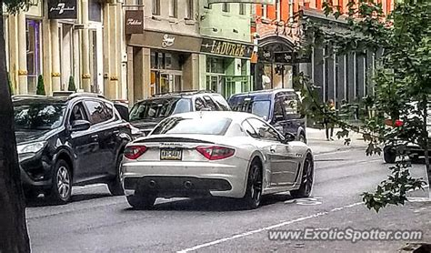 maserati nyc maserati granturismo spotted in manhattan new york on 03