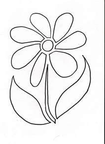 Flower Stencil Template by Flower Stencil