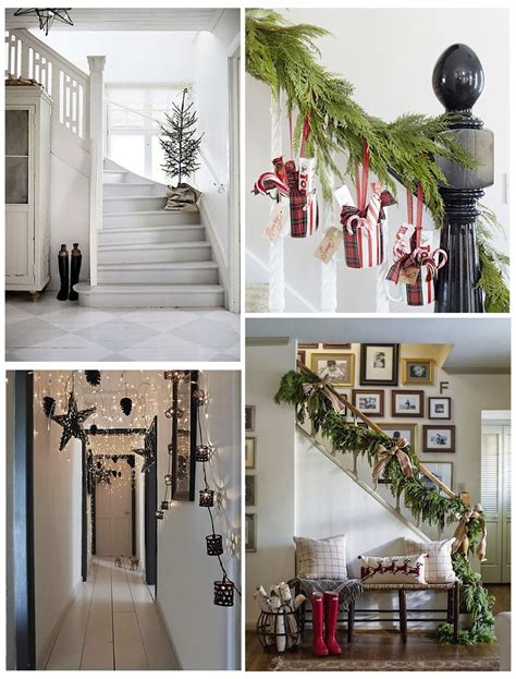 decorate your home for christmas get your home ready with these 14 christmas hallway ideas