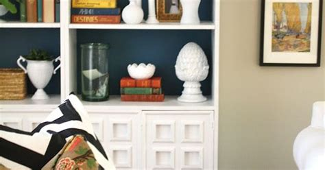navy blue backed bookcases for the home