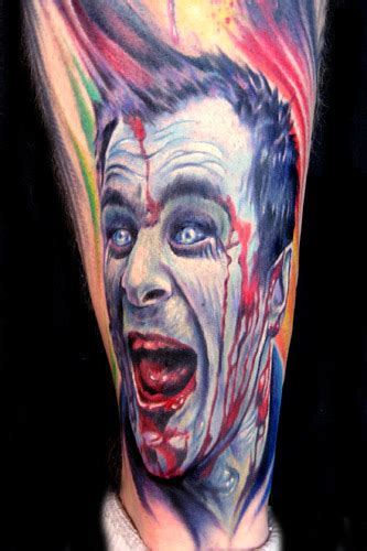 dawn of the dead tattoos paul acker of the dead
