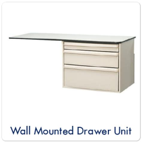 Wall Mounted Drawer Unit by Wall Mounted Drawer Unit