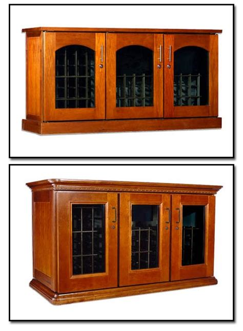 Refrigerated Wine Cabinets by We Make It Happen With Custom Refrigerated Wine Cabinets