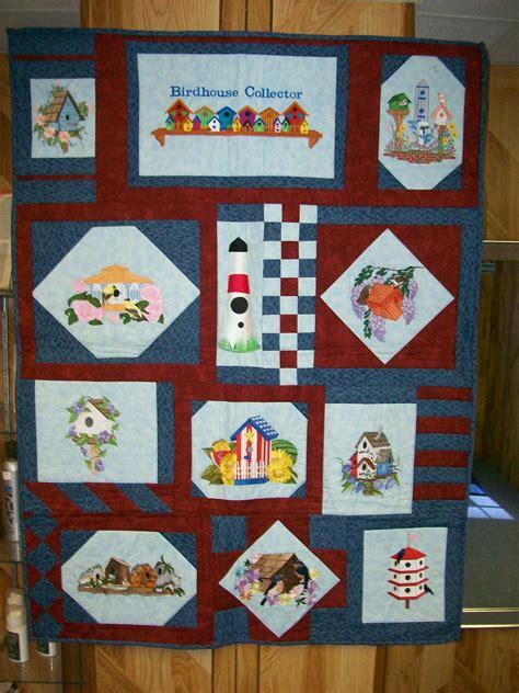 Birdhouse Quilt by Bird House Quilt