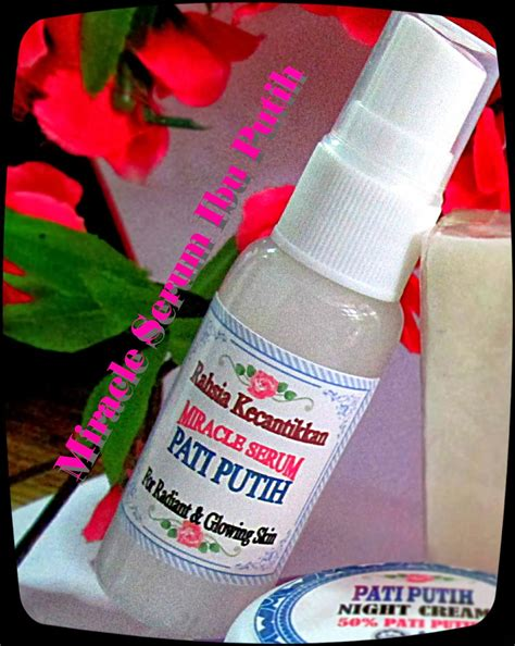 set pati putih   rose beauty care
