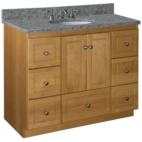 42 bathroom vanity base strasser woodenworks simplicity 42 quot single cabinet