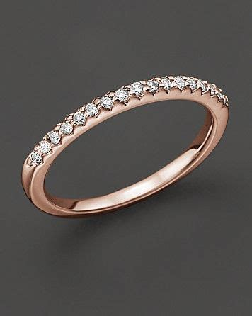 bloomingdales wedding rings micro pave ring in 14 kt gold 0 15 ct t w