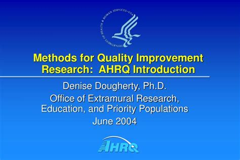 design of experiment quality improvement ppt methods for quality improvement research ahrq