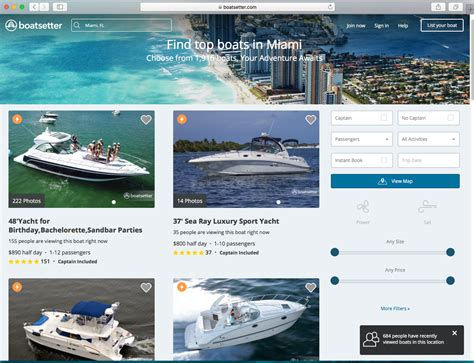 boatsetter airbnb charter