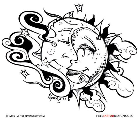 moon tribal tattoos 65 sun tattoos tribal sun designs