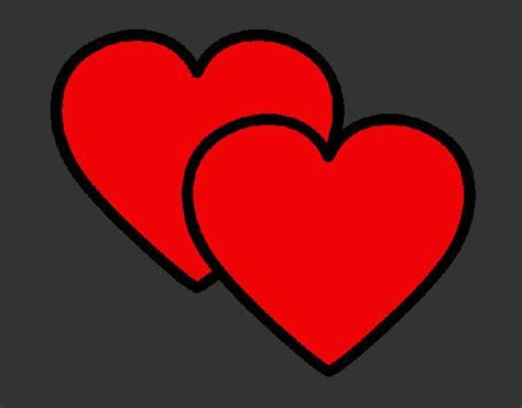 imagenes de corazones de video juegos dibujo de corazones pintado por damaris201 en dibujos net
