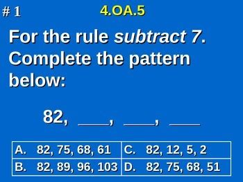 number pattern rule generator 4th grade common core math 4 oa 5 generate number