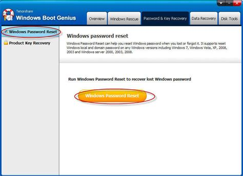 windows password reset guide windows boot genius user guide how to create a boot cd