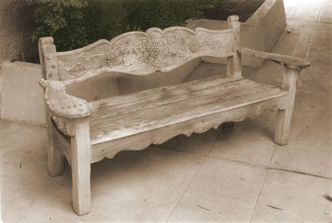 carved wood benches carved wooden benches pollera org