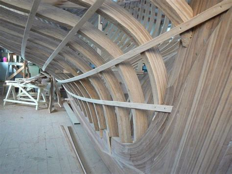 skeleton   wooden ship croatian traditional