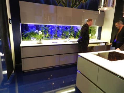 Fish Tank In Kitchen by Fish Tank As A Kitchen Backsplash Jpg