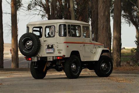 vintage toyota truck toyota land cruiser fj40 4x4 restored vintage truck