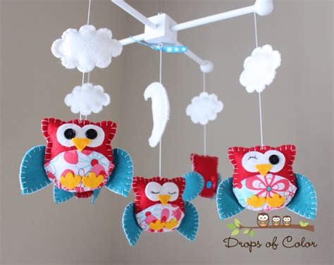 Baby Mobile For Crib Baby Crib Mobile Baby Mobile Nursery Owl Mobile Crib