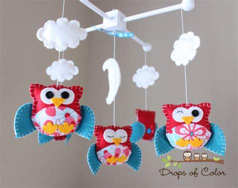 Baby Crib Mobile Baby Mobile Nursery Owl Mobile Crib How To Make Baby Mobiles For Cribs