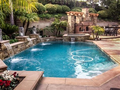 pools with waterfalls 17 fascinating pools with waterfalls ideas