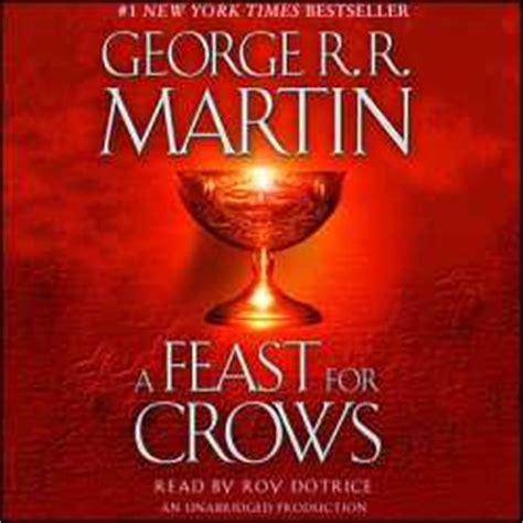 a feast for crowsfeast b004u2s3oe a feast for crows audio book cds unabridged