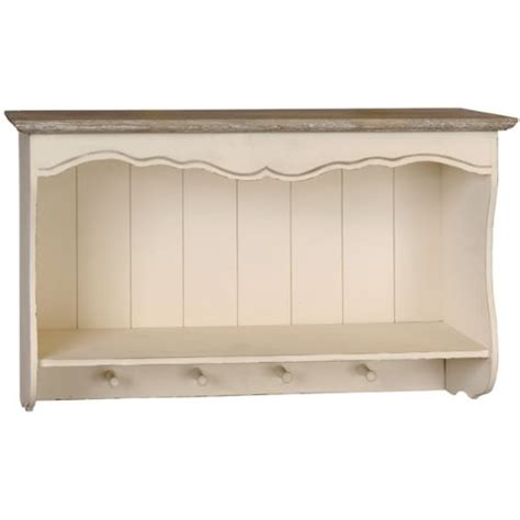shabby chic wall shelf shabby chic style country wall shelf unit with