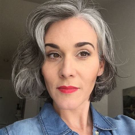 hairstyles for gray hair 2011 1455 best gorgeous gray hair images on pinterest going