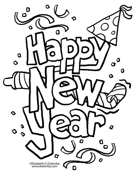 2016 new years eve coloring pages a new twist on new year s eve a little tipsy