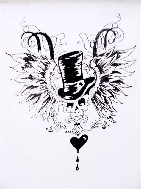 fallen angel tattoo design by 5han5hananagon on deviantart