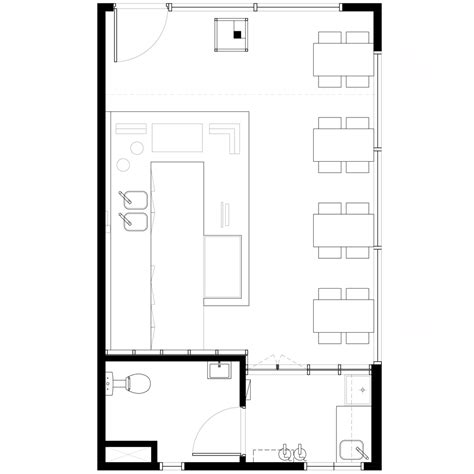 layout of simple restaurant simple cafe floor plan www pixshark com images