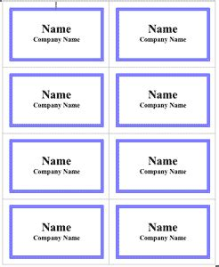 Free 3 1 2 X 2 1 4 Name Badge Printer Templates Lbi35 C Line Products Microsoft Word Name Tag Template