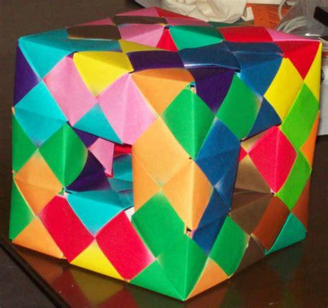 Origami Menger Sponge - origami menger sponge by saston on deviantart